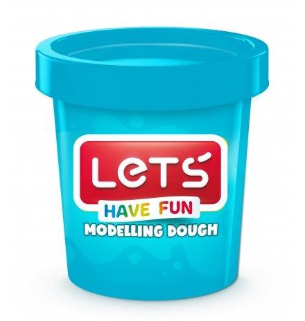 Lets Oyun Hamuru Tek Renk 150 GR Mavi L8340-3