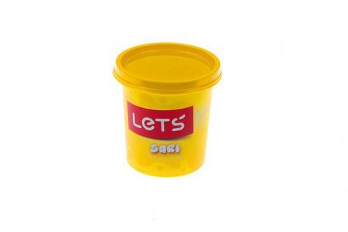 Lets Oyun Hamuru Tek Renk 150 GR Sarı L8340-1