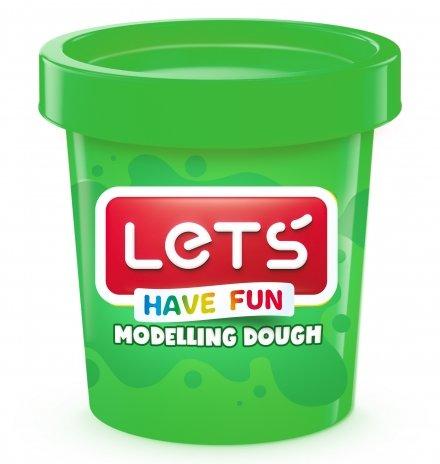 Lets Oyun Hamuru Tek Renk 150 GR Yeşil L8340-4