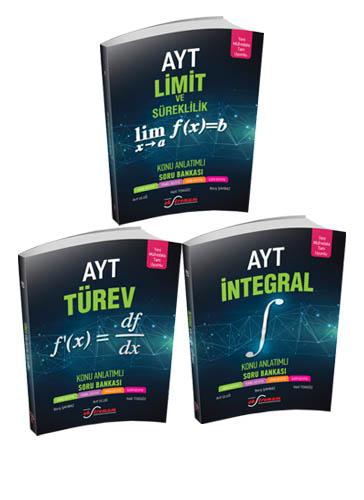 Ekstremum 3 Kitap Set Limit- Türev - İntegral Ekstremum Yayınları