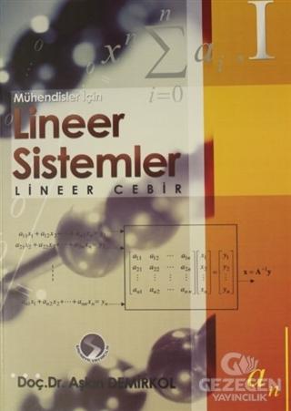 Lineer Sistemler - Lineer Cebir 1
