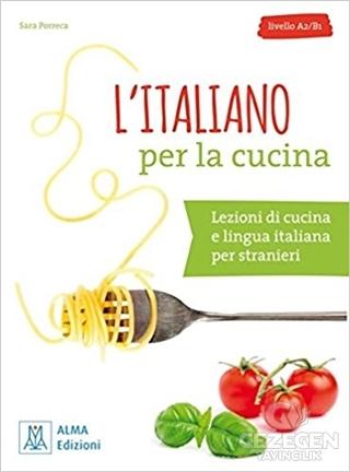 L'italiano per la cucina + MP3 e video online (A2-B1)