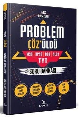 2020 KPSS DGS ALES MSÜ TYT Problem Çözüldü Problemler Soru Bankası | Liyakat Yayınları