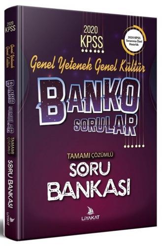 Liyakat 2020 KPSS Genel Yetenek Genel Kültür BANKO Soru Bankası Çözümlü Liyakat Yayınları