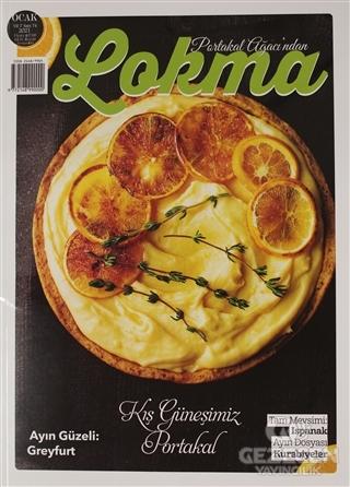 Lokma Aylık Yemek Dergisi Sayı: 74 Ocak 2021