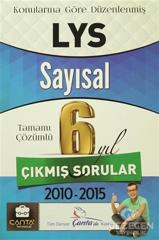 LYS Sayısal Tamamı Çözümlü 6 Yıl Çıkmış Sorular 2010-2015