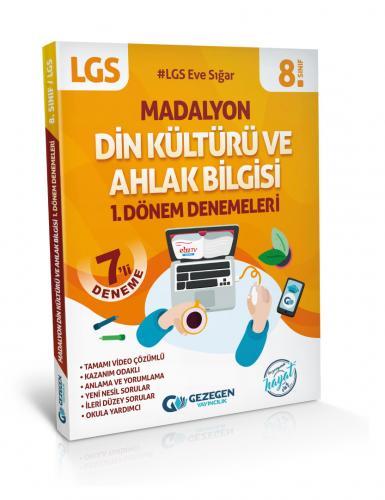 8.Sınıf Madalyon Din Kültürü ve Ahlak Bilgisi 1. Dönem Denemeleri LGS