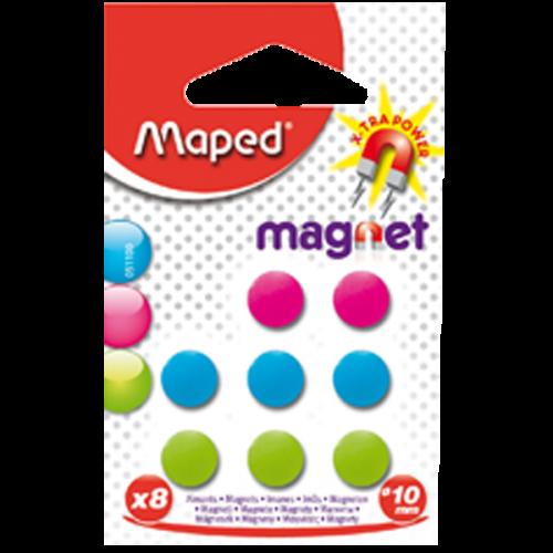 Maped Mıknatıs 10 MM 8 Lİ 051100