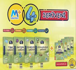Martı Yayınları 4. Sınıf Seruven Seti(Türkçe+Matematik+Fen Bilgisi+Sosyal Bilgiler)