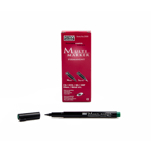 Marvy Asetat Kalemi Permanent M Seri Yeşil 2600M-4