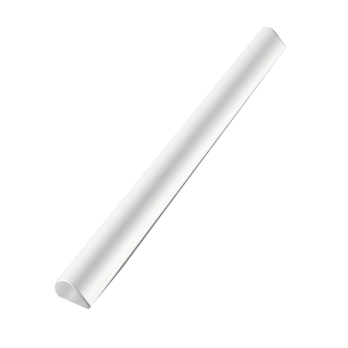 Mas Profil Sırtlık Plastik Oval 6 MM A4 Beyaz 8180