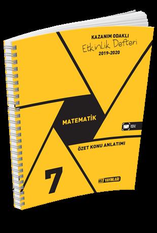 7. Sınıf Matematik Özet Konu Anlatımlı Etkinlik Kitabı