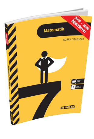 Hız Yayınları 2021 7. Sınıf Matematik Soru Bankası
