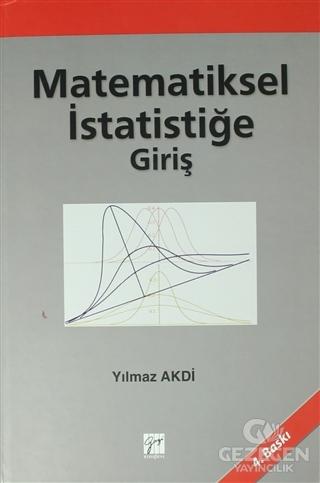 Matematiksel İstatistiğe Giriş