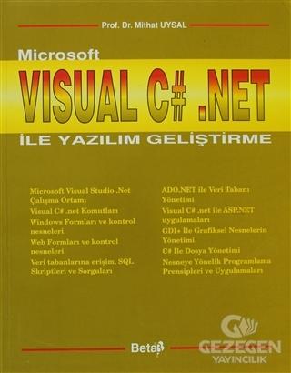 Microsoft Visual C# Net ile Yazılım Geliştirme