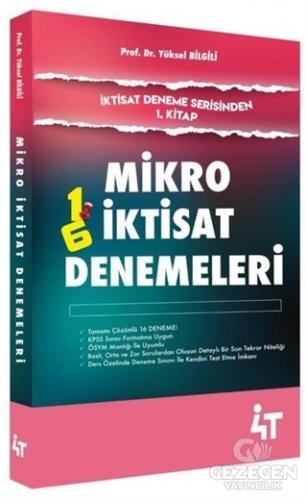 Mikro İktisat Denemeleri-İktisat Deneme Serisinden 1.Kitap