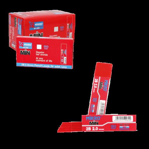 Mikro Teknik Min 2B 90 MM 2 MM Kırmızı M-928