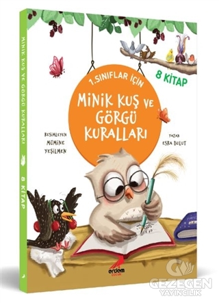 Minik Kuş ve Görgü Kuralları (8 Kitap Takım)