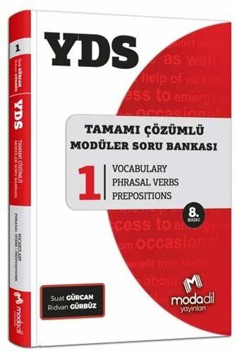 Modadil Yayınları YDS Tamamı Çözümlü Soru Bankası Serisi 1