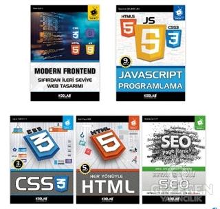 Modern Web Tasarım Seti 2 (5 Kitap Takım)