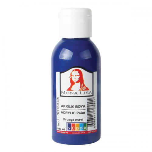 Monalisa Akrilik Boya 70 ML Prusya Mavi SD150-06
