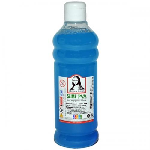 Monalisa Sıvı Yapıştırıcı Slime 500 ML Fosforlu Mavi SL05-13