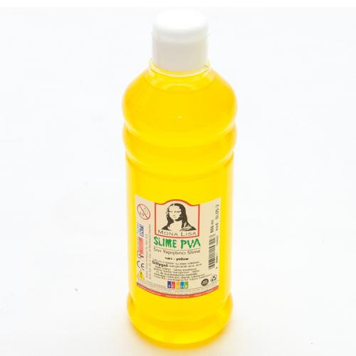 Monalisa Sıvı Yapıştırıcı Slime 500 ML Sarı SL05-2