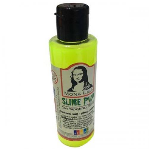 Monalisa Sıvı Yapıştırıcı Slime 70 ML Fosforlu Sarı SL01-11