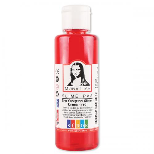 Monalisa Sıvı Yapıştırıcı Slime 70 ML Kırmızı SL01-3