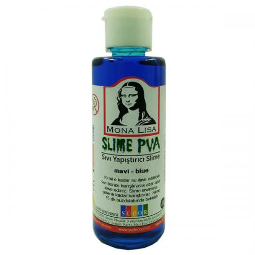 Monalisa Sıvı Yapıştırıcı Slime 70 ML Mavi SL01-4