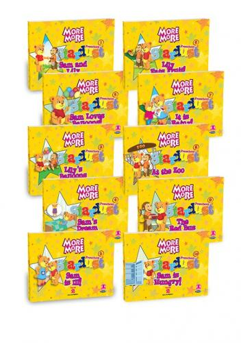 More&More English Preschool Stardust Level 2 Hikaye + Poster + Flashcard