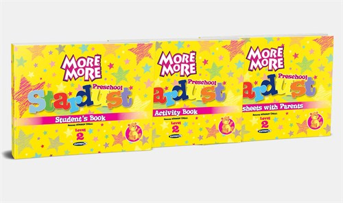 More&More English Preschool Stardust Level 2 (Öğretmen Seti + 3'Lü Kitap Seti)