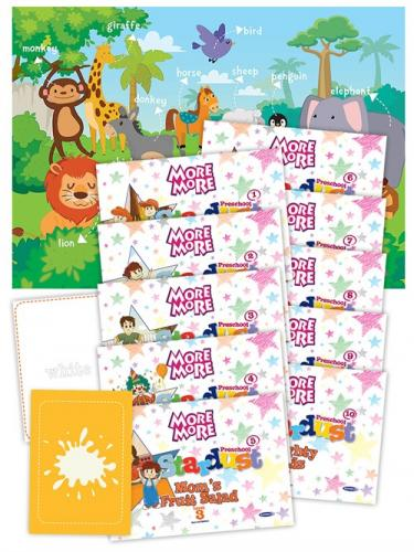 More&More English Preschool Stardust Level 3 Hikaye + Poster + Flashcard