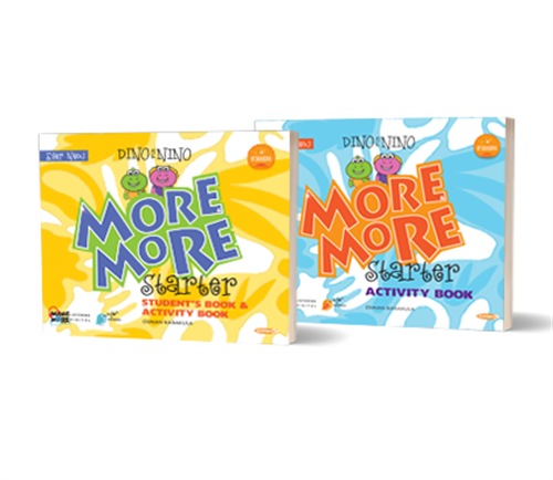 More&More English Starter : Dino&Nino Student'S Book&Activity Book