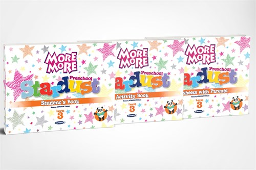More&More Preschool Stardust Level 3 (3'Lü Kitap Seti)