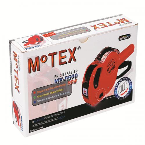 Motex Fiyat Etiket Makinası 8 Hane MX-5500