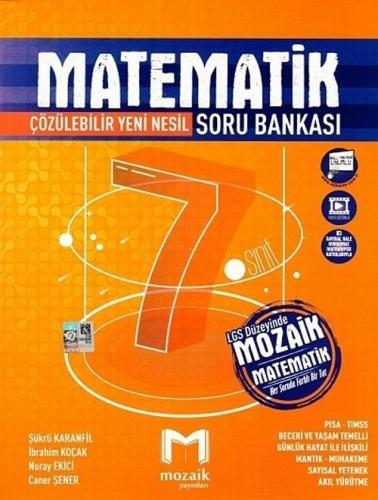 Mozaik Yayınları 7. Sınıf Matematik Soru Bankası