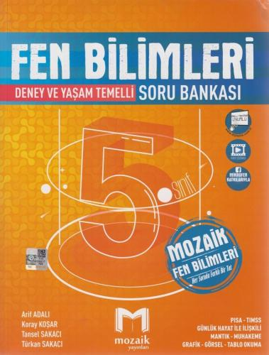 Mozaik Yayınları 5. Sınıf Fen Bilimleri Soru Bankası