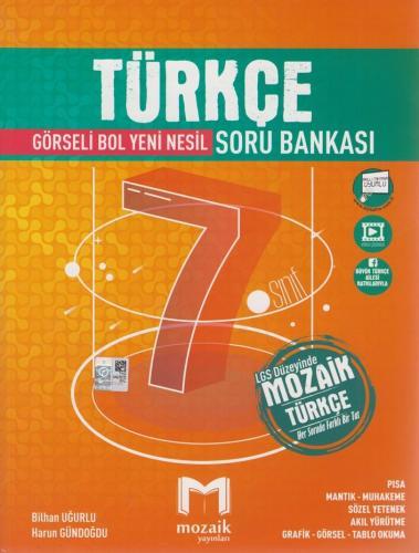 Mozaik Yayınları 7. Sınıf Türkçe Soru Bankası