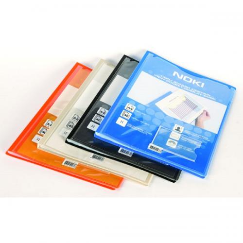 Noki Katalog (Sunum) Dosya Cepli 100 LÜ Karışık Renk 641100-N