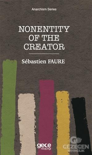 Nonentity Of The Creator