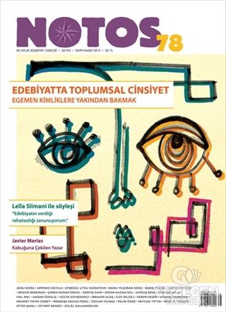 Notos Öykü Dergisi Sayı: 78 Ekim - Kasım 2019