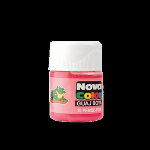 Nova Color Guaj Boya Şişe 12 Lİ Pembe NC-112