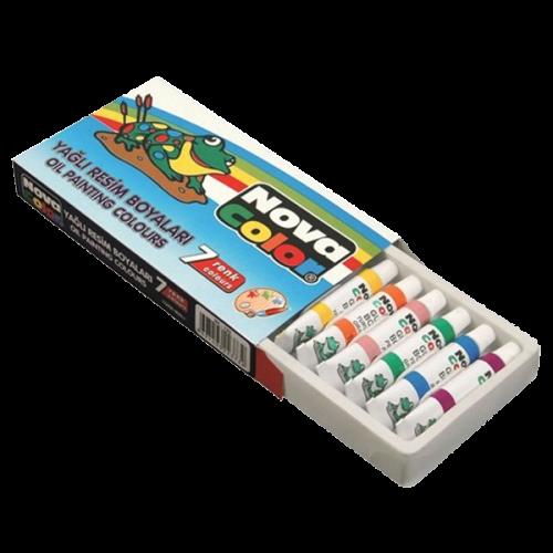 Nova Color Yağlı Boya Tüp 7 Lİ NC-125