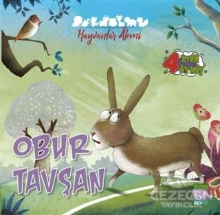 Obur Tavşan - Hayvanlar Alemi Serisi