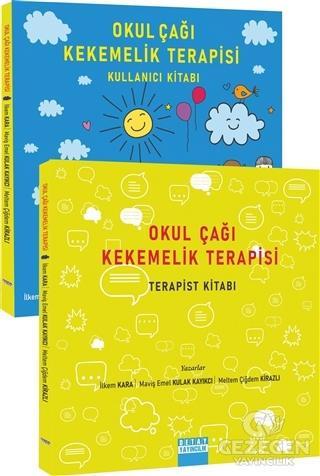 Okul Çağı Kekemelik Terapisi (Kullanıcı Kitabı / Terapist Kitabı) – Tek Kitap