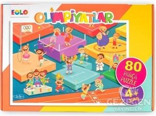 Olimpiyatlar - 80 Parça Puzzle (4 Yaş)