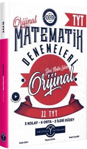 Orijinal Yayınları TYT Orijinal Matematik 11 li Denemeleri