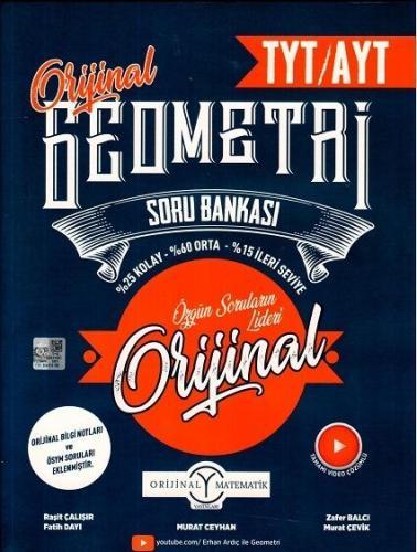 Orijinal Yayınları TYT AYT Orijinal Geometri Soru Bankası
