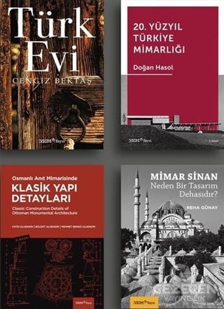 Osmanlı'dan Bugüne Türkiye Mimarlığı Seti (4 Kitap Takım)